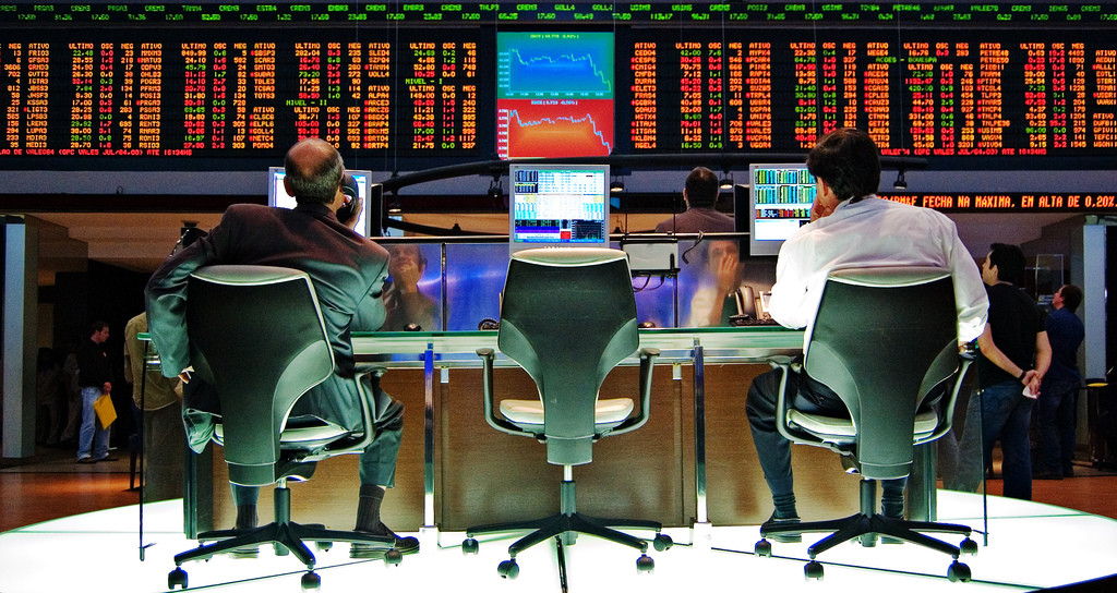 big trading desk