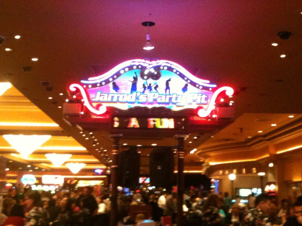 Vegas clearly didn't know I'm not a gambler!